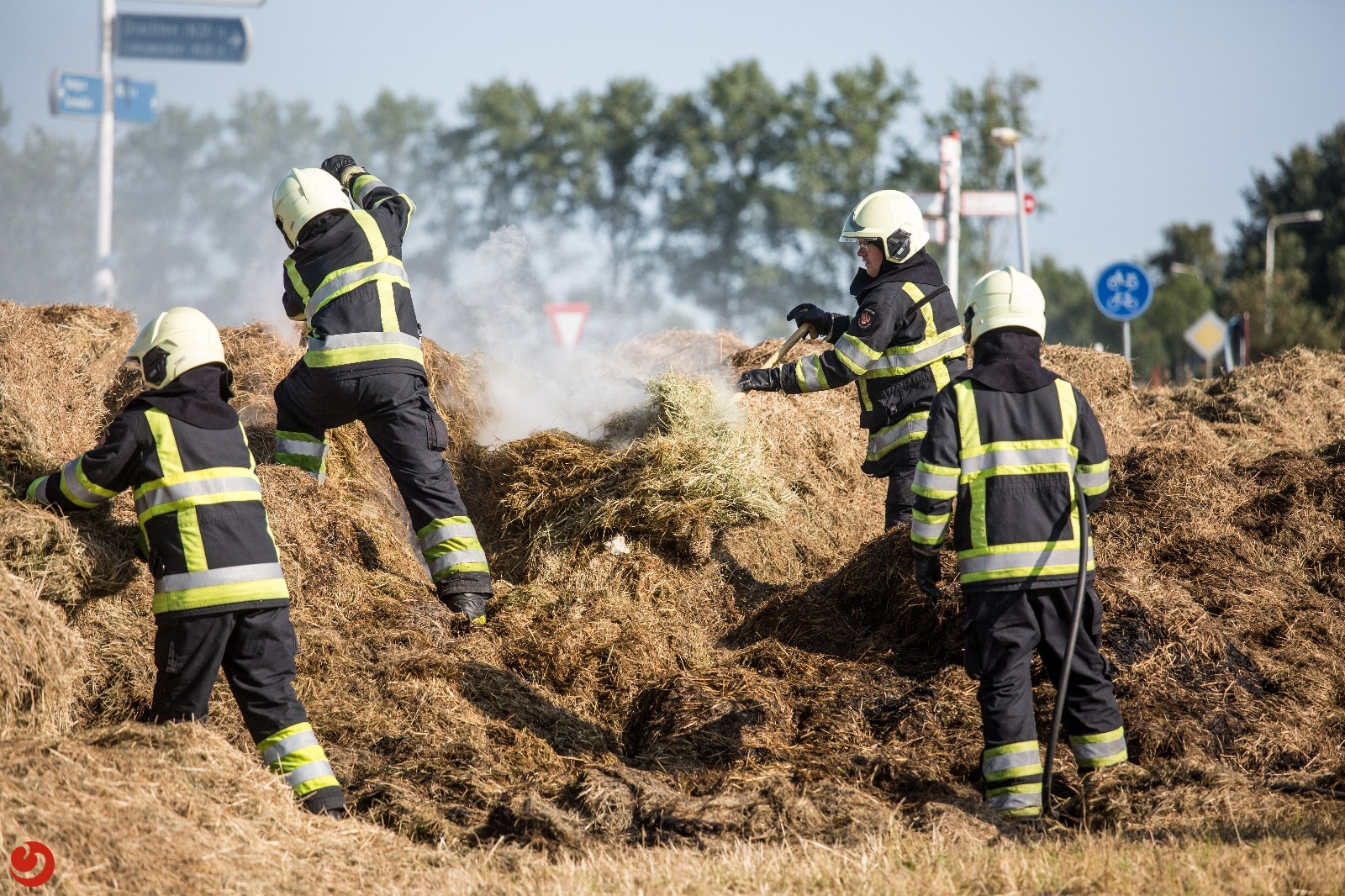 Aanhoudende droogte: wees alert op natuurbranden