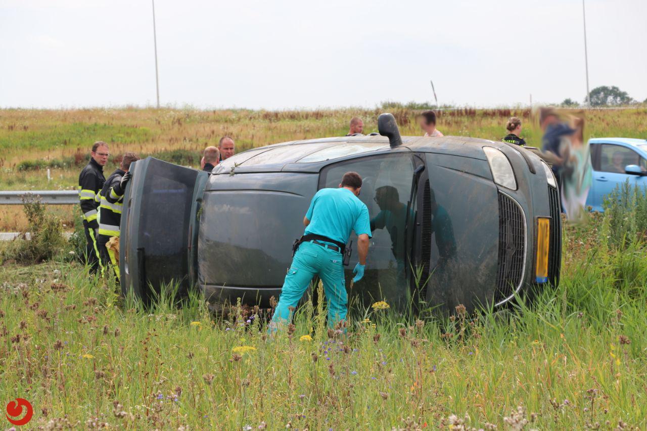 Twee gewonden na ongeval op N31