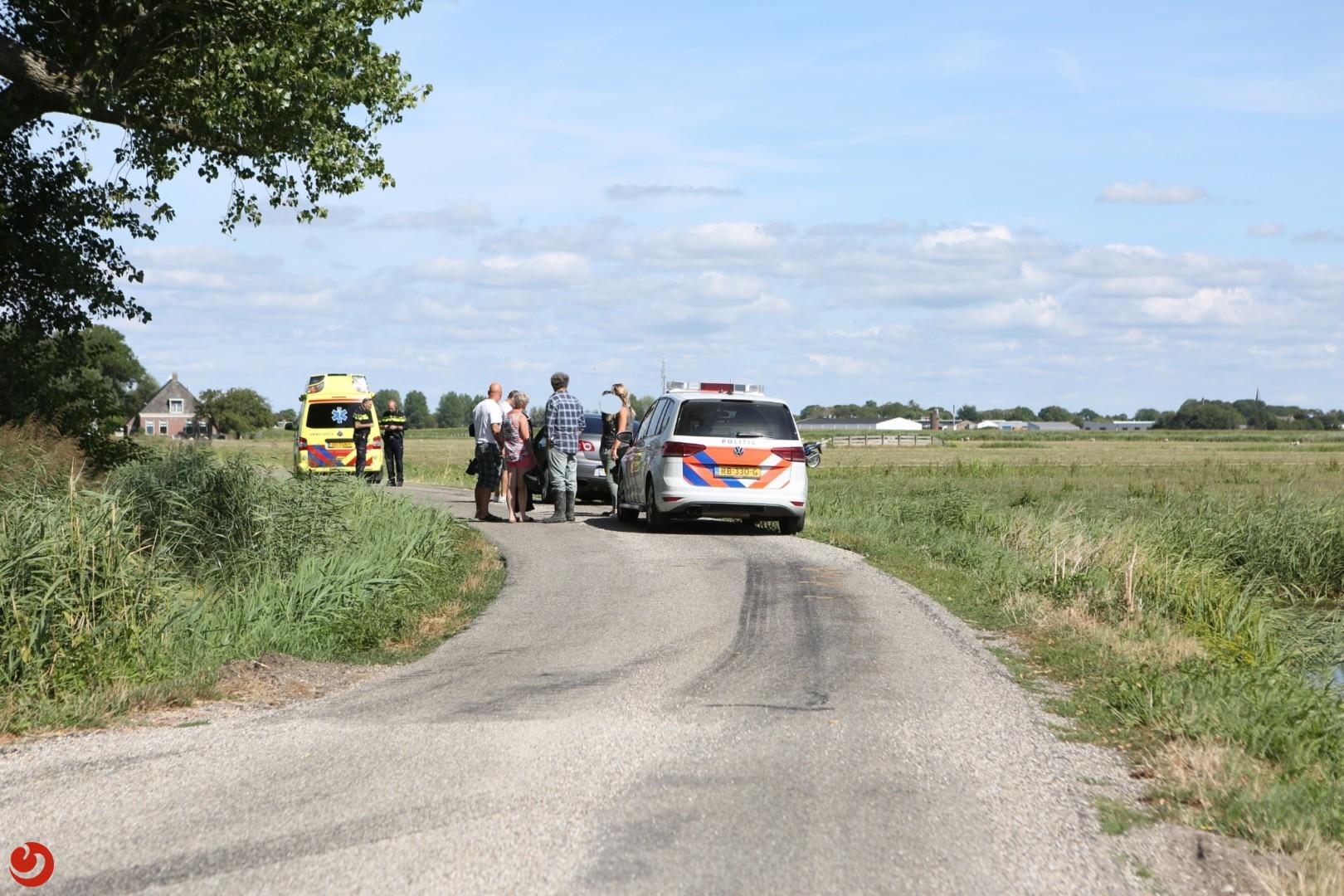 Motorrijder gewond na eenzijdig ongeval