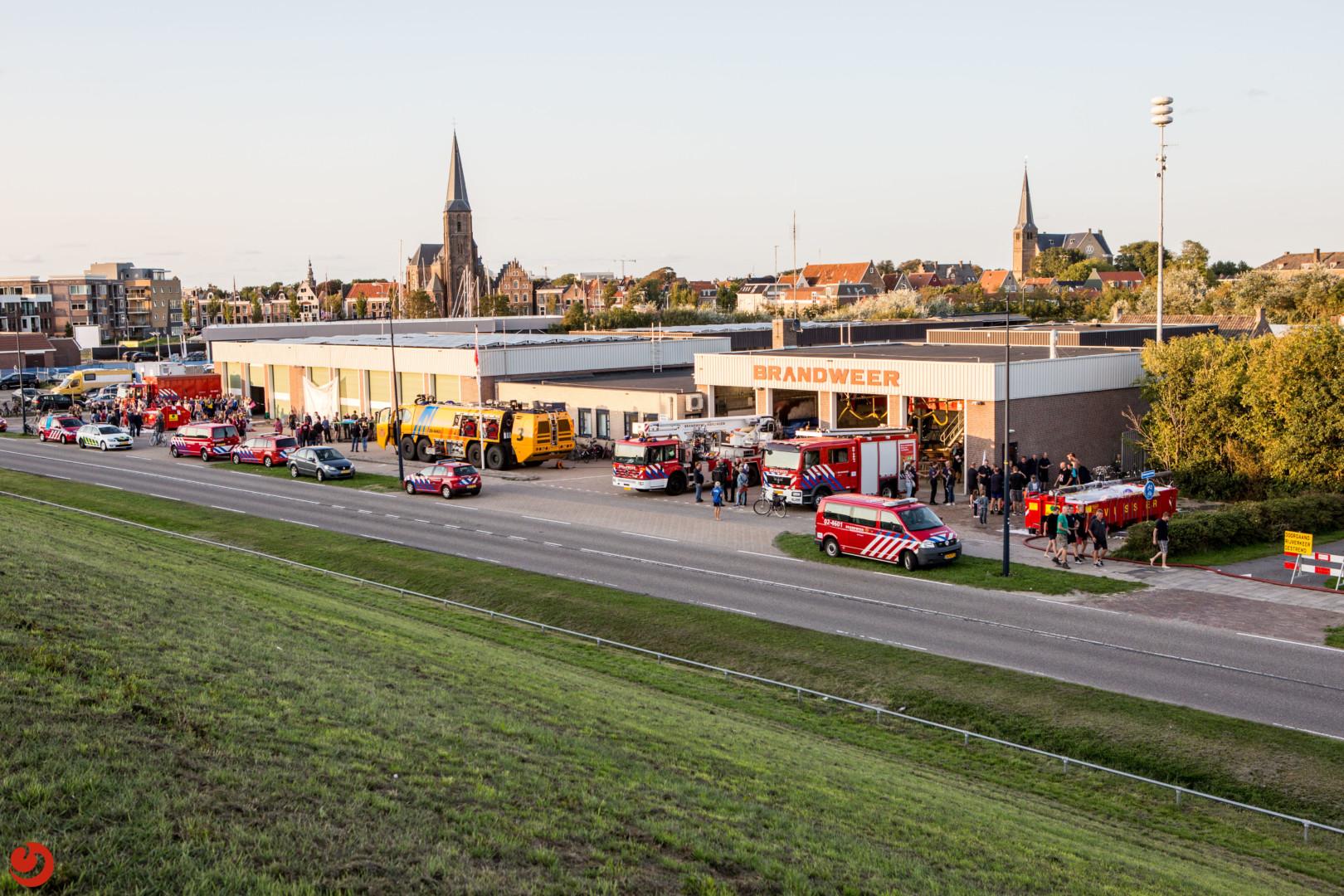 Zeskamp brandweer Harlingen