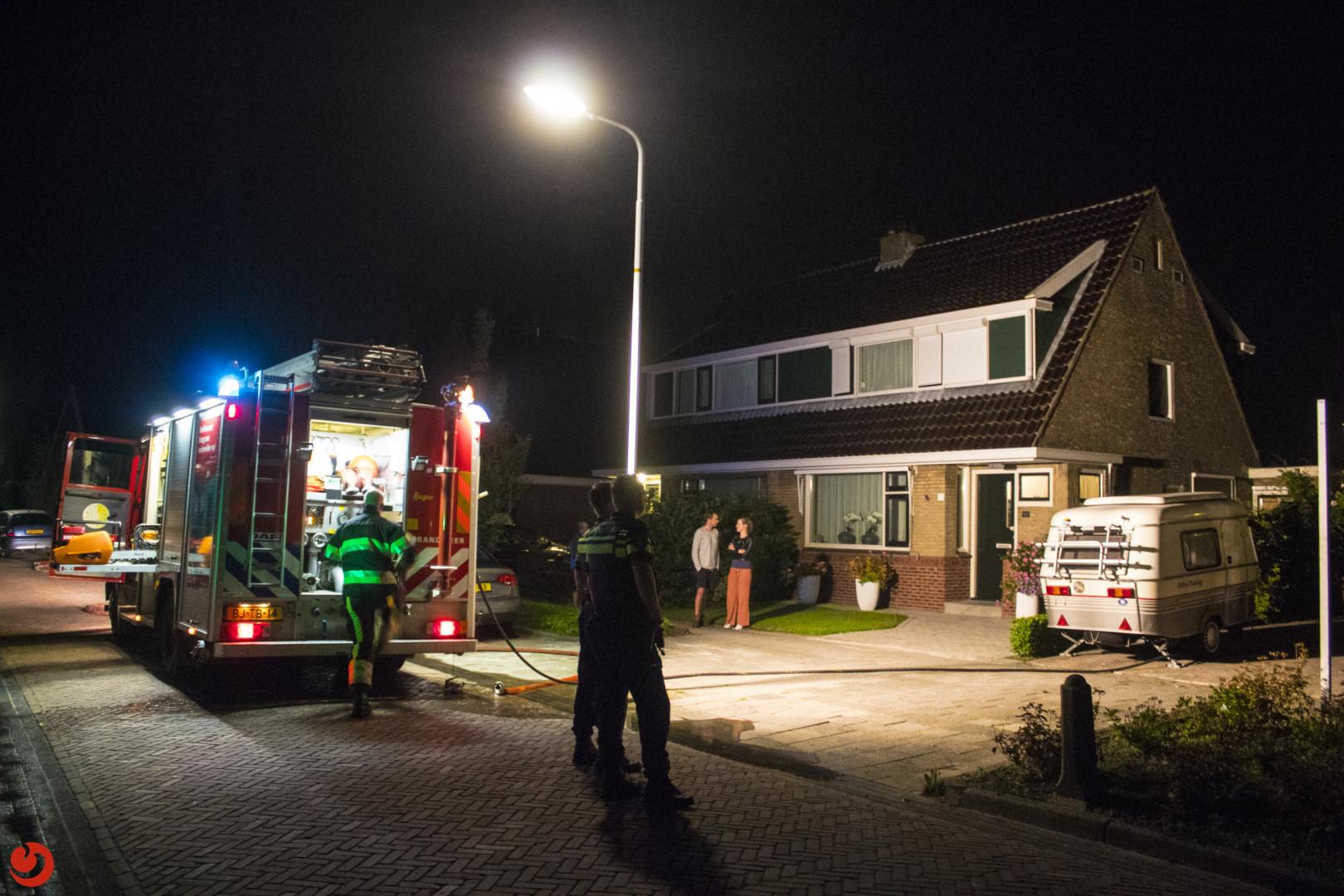 Drie gewonden bij brand in woning