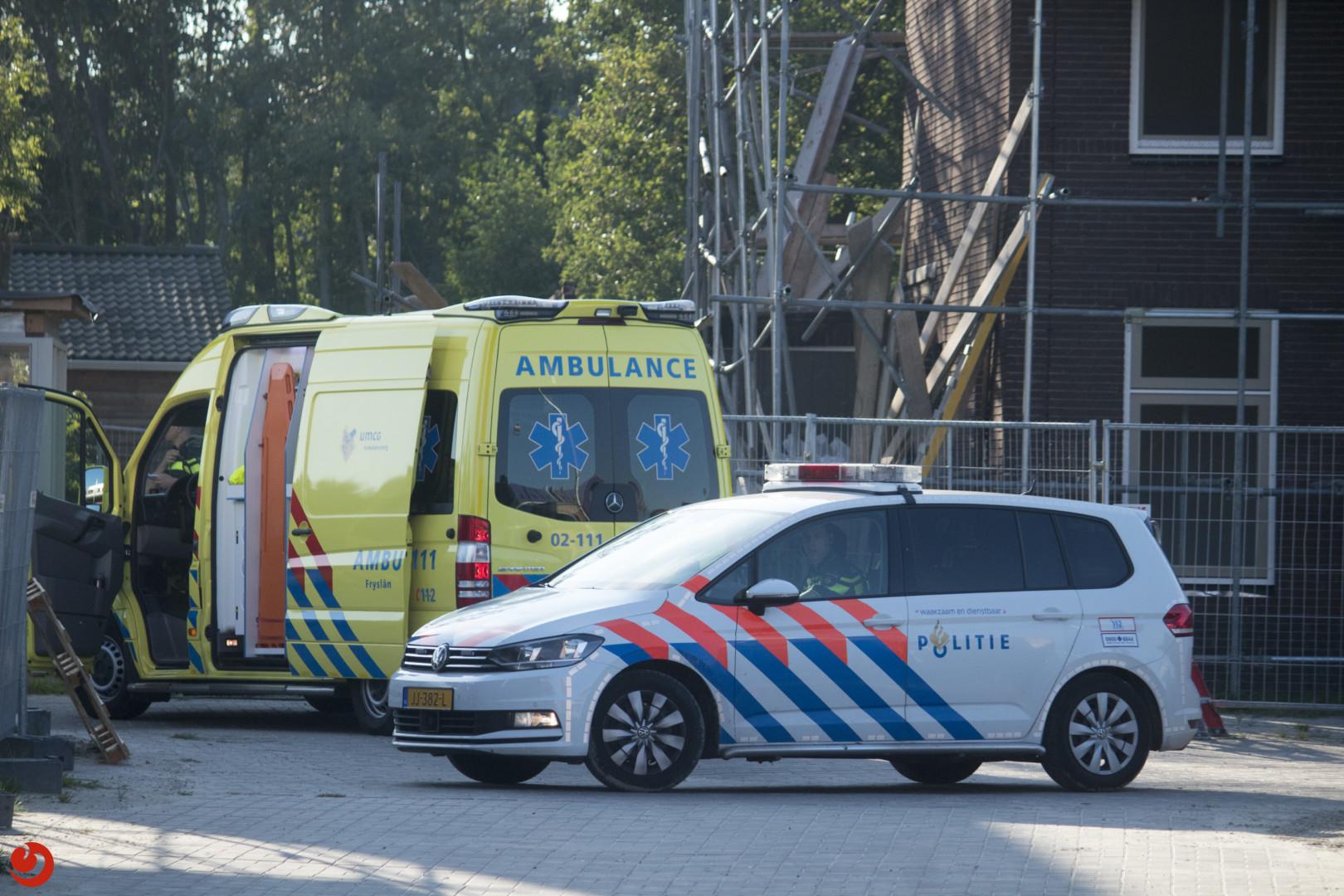 Bouwvakker zwaargewond na instorten gevel