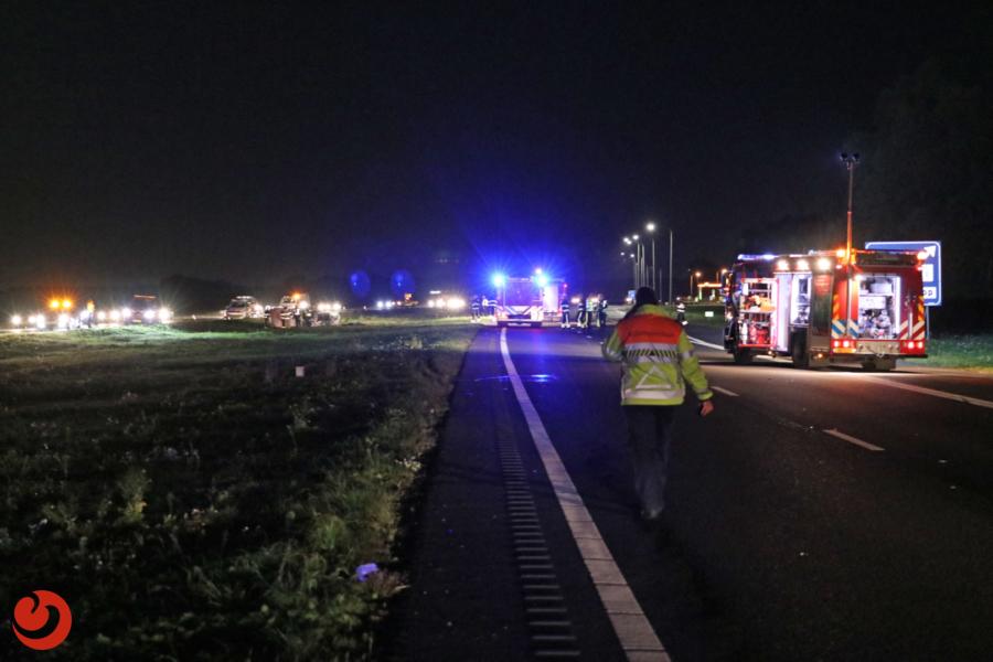 Dode bij ongeval A6