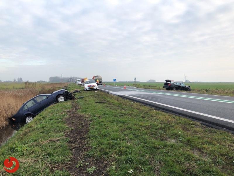 Zwaargewonde bij ongeval