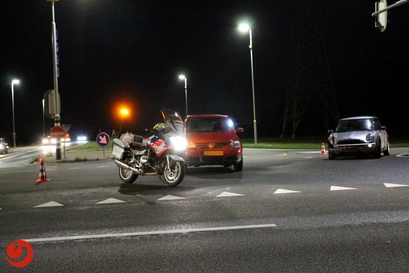 Lange file door verkeersongeval op Drachtsterweg