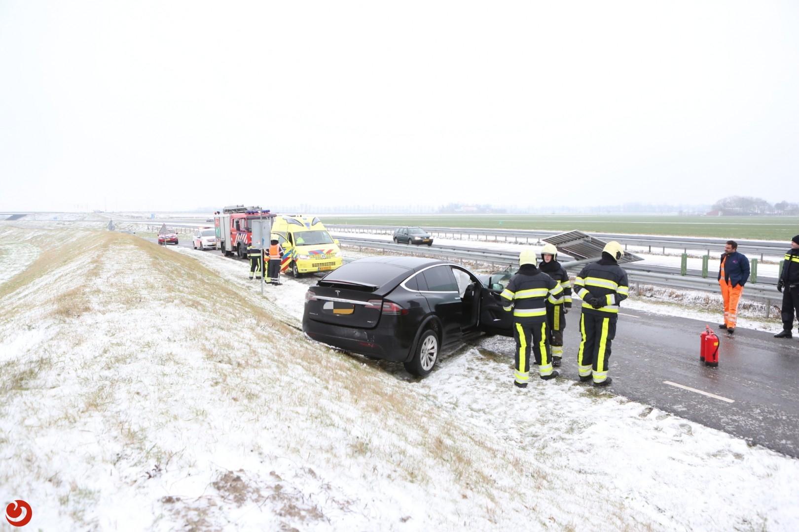 Ravage na ongeval op de N31