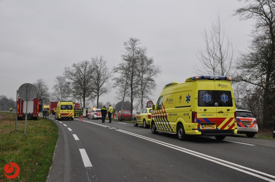 Twee doden bij ernstig auto ongeluk N919