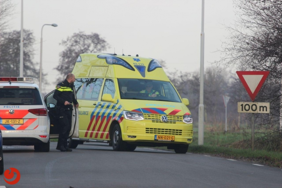 Automobiliste gewond door uitwijkmanoeuvre