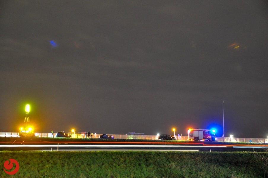 Chaos rondom knooppunt Heerenveen door ongevallen