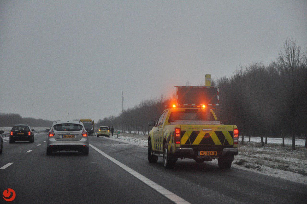 Meer dan 40 incidenten op Friese wegen