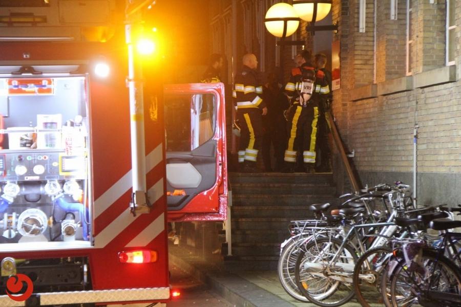 Algemene Opvang ontruimd door brandmelding