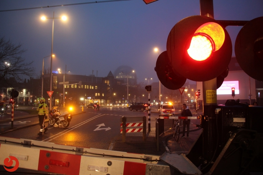 Verkeerschaos door ongeval met trein