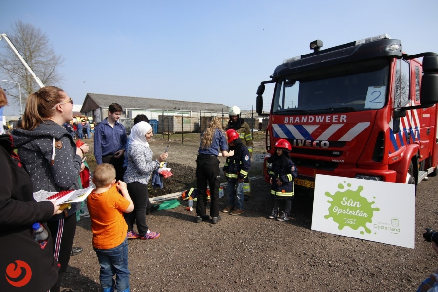 Druk bezochte 112-Dag in Gorredijk