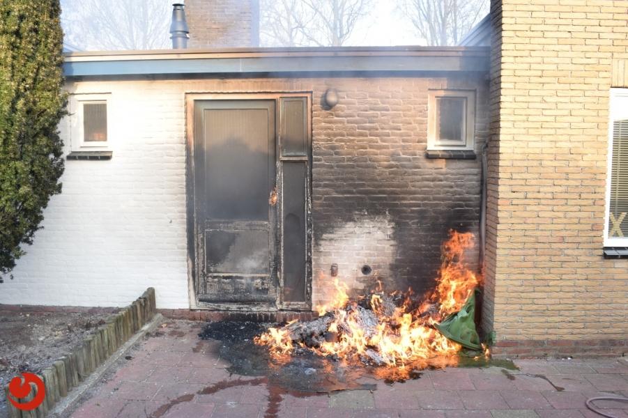 Woning beschadigd door klikobrand