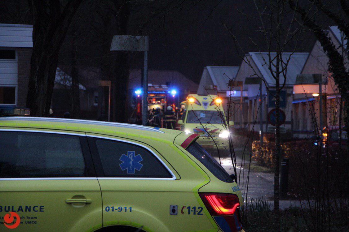 Twee gewonden bij brand in zorgcomplex
