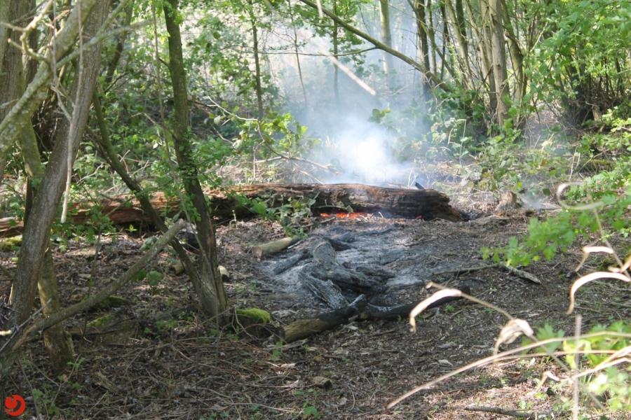 Drietal buitenbranden vermoedelijk ontstaan door brandstichting