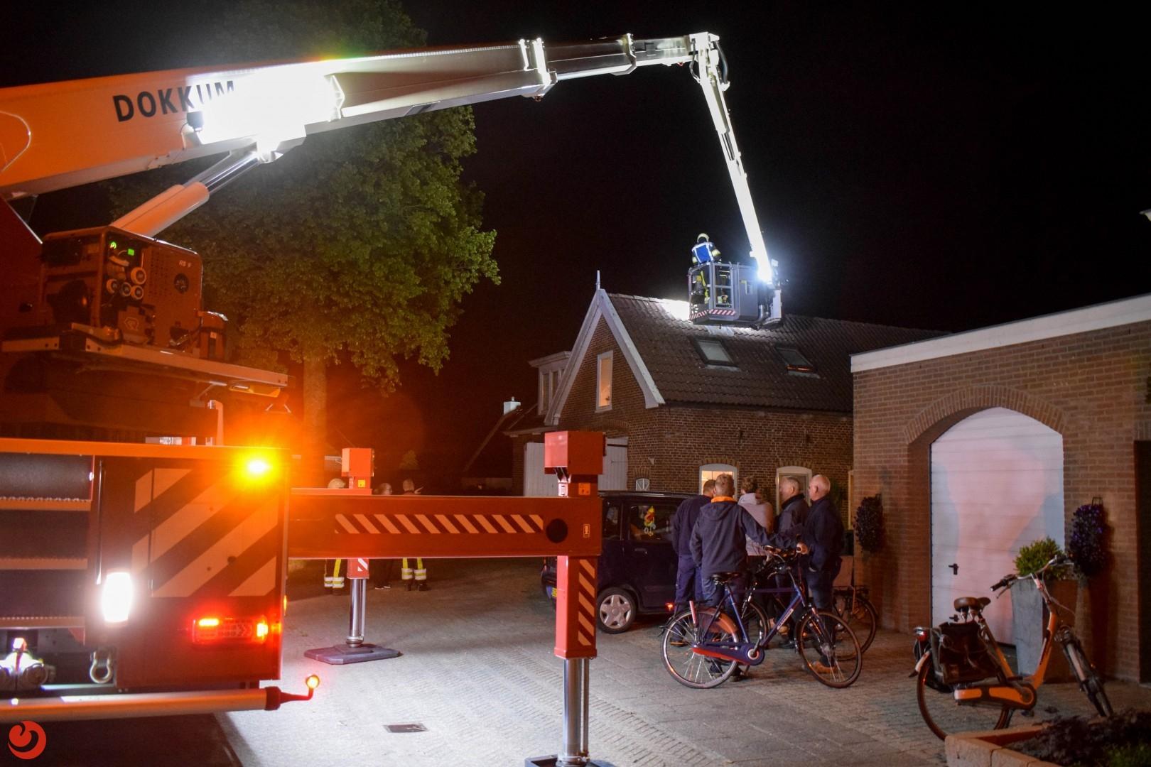 Omstanders voorkomen erger bij schoorsteenbrand