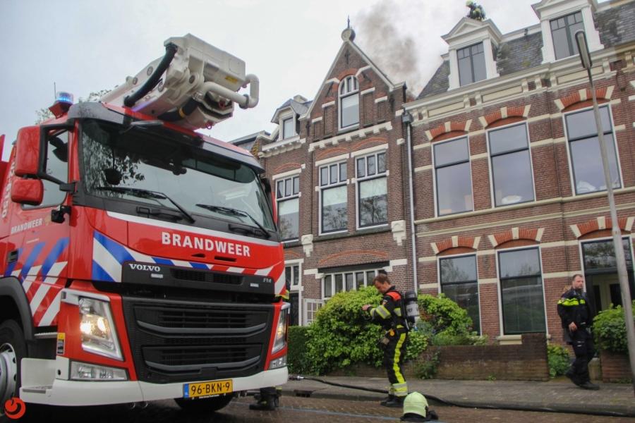 Schade door uitslaande dakbrand