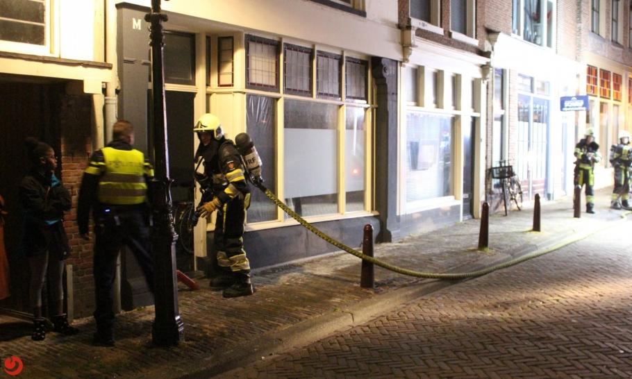 Keukenbrand in stadscentrum snel onder controle
