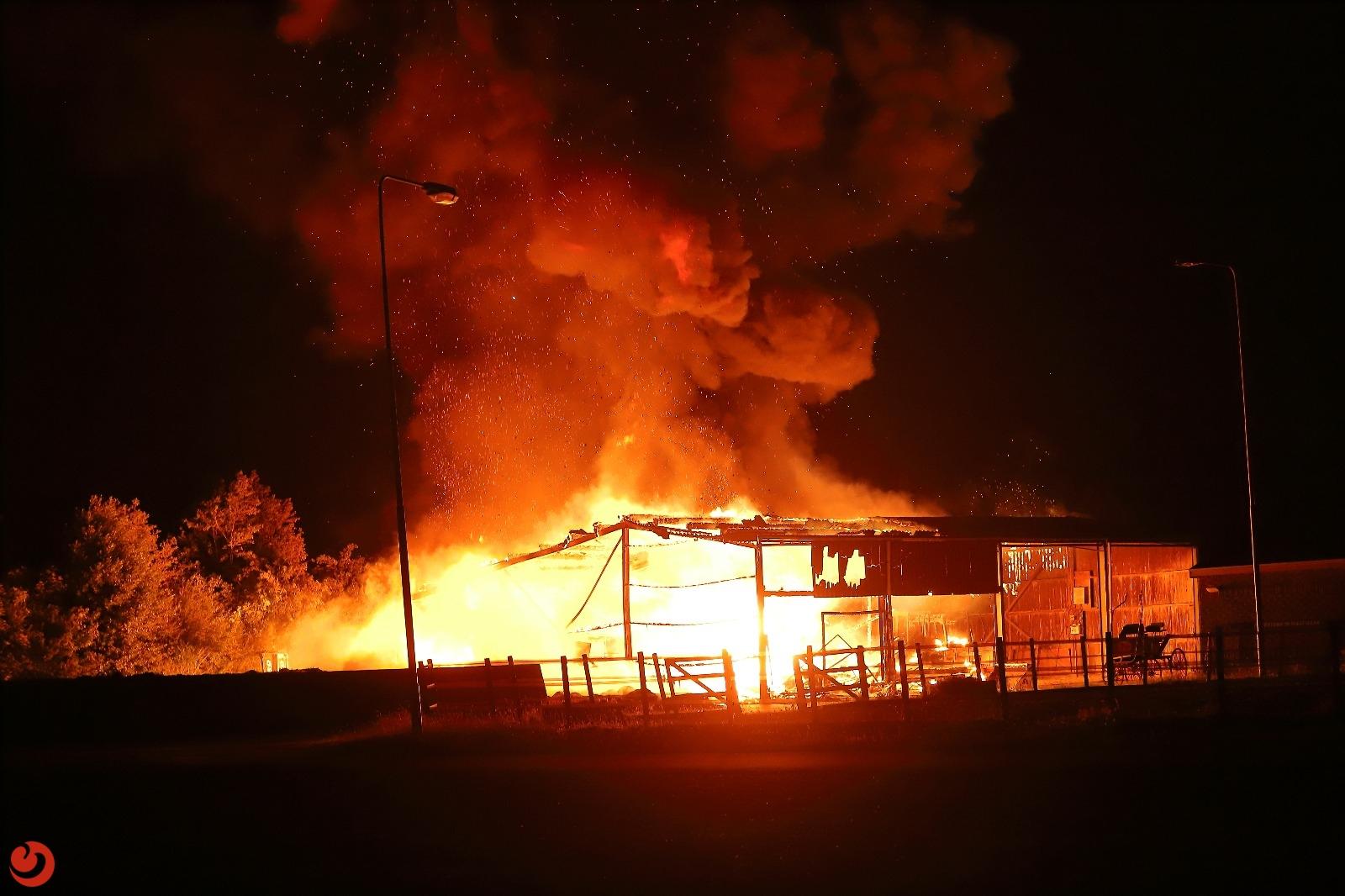 Felle brand bij Fries Congrescentrum