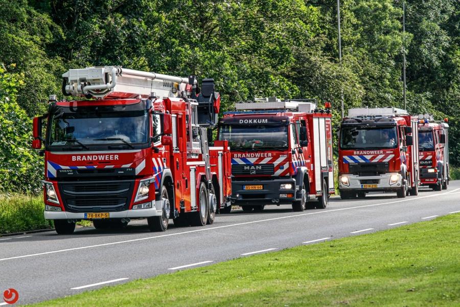 Drents korps Zuidlaren wint Dokkumer brandweer-rally!