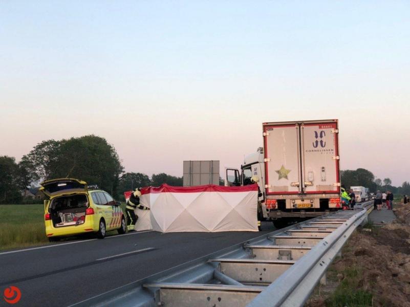 Dodelijk slachtoffer bij zeer ernstig ongeval op N381