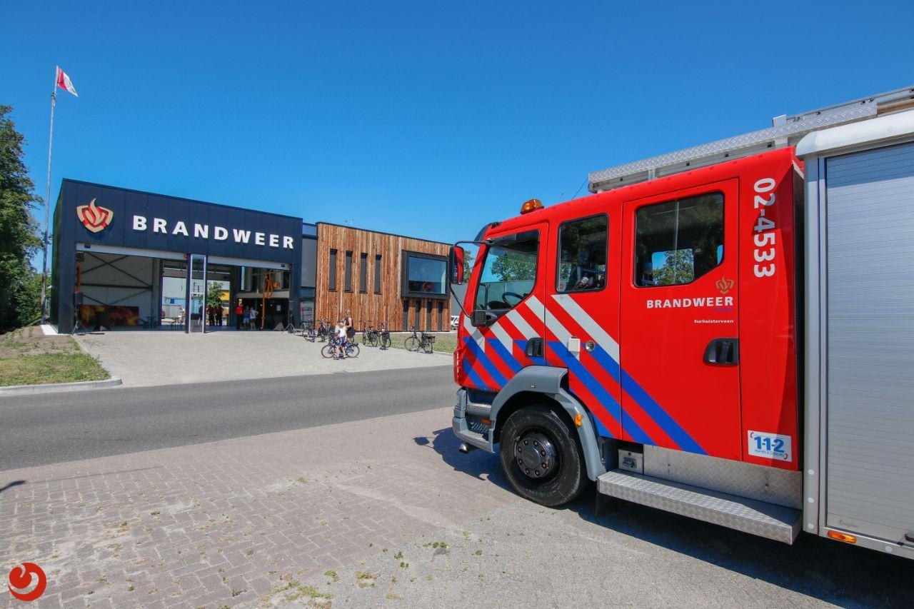 Nieuwe brandweerkazerne Surhuisterveen geopend
