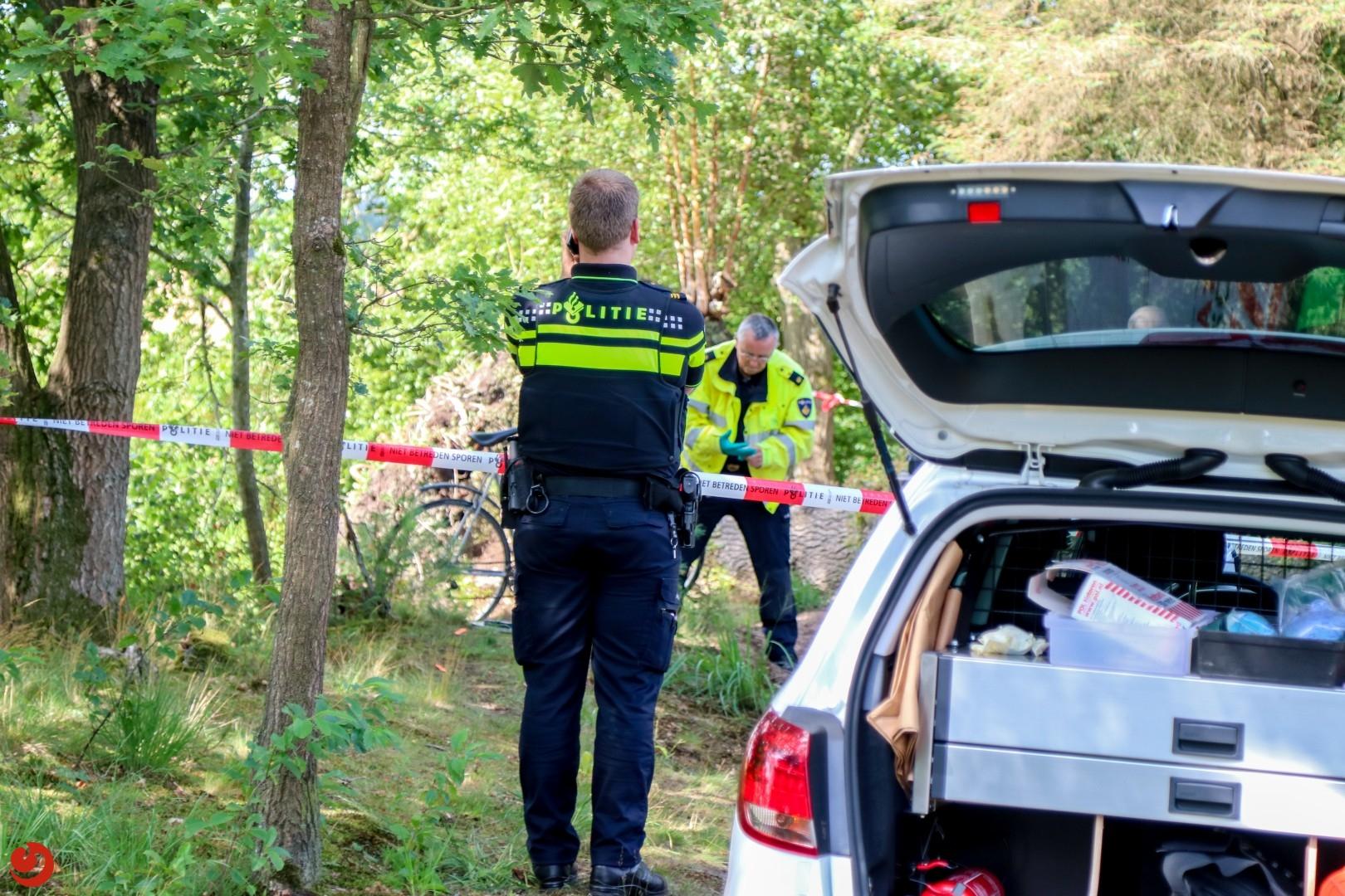 Man (55) omgekomen na noodlottig ongeval in bos