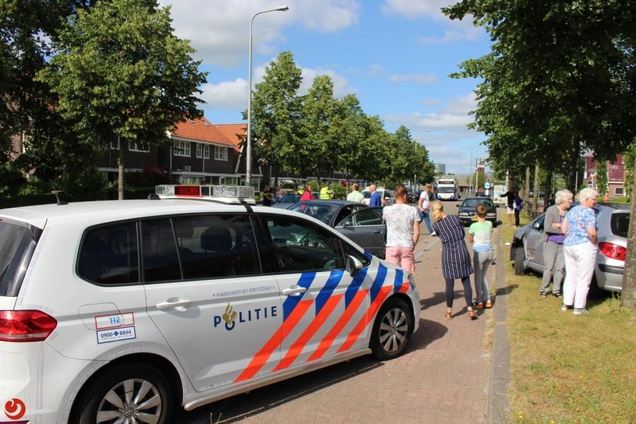 Auto aangereden bij verlaten parkeervak