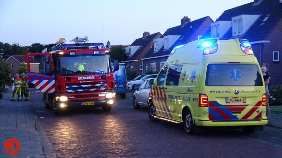 Kinderen gewond na brand op slaapkamer