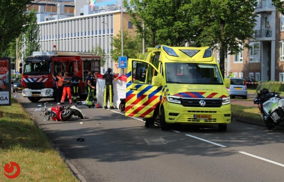 Bestuurder snorscooter overleden na ongeval