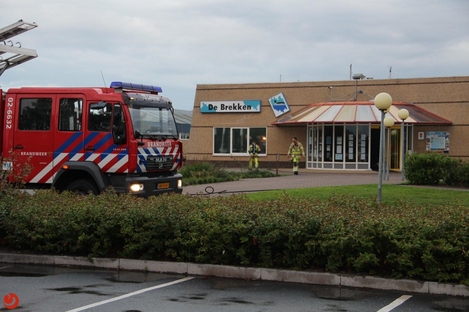 Veel rookschade bij brand in opslagruimte restaurant
