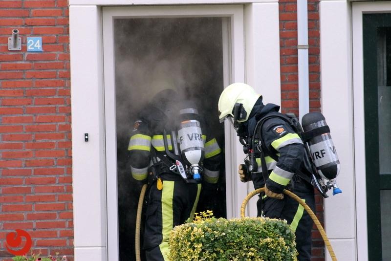 Woning van binnen fors beschadigd door brand