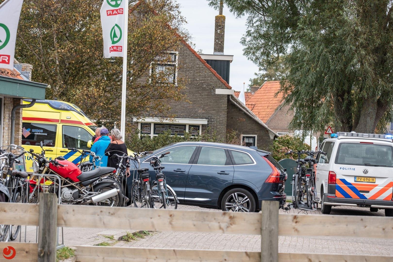 Twee ongevallen in korte tijd op Terschelling