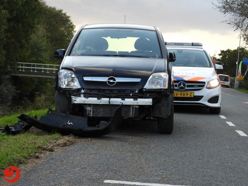 Persoon gewond bij eenzijdig ongeval
