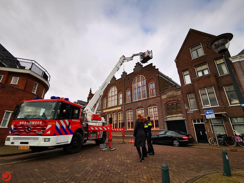 Rookontwikkeling bij Fries Scheepvaartmuseum