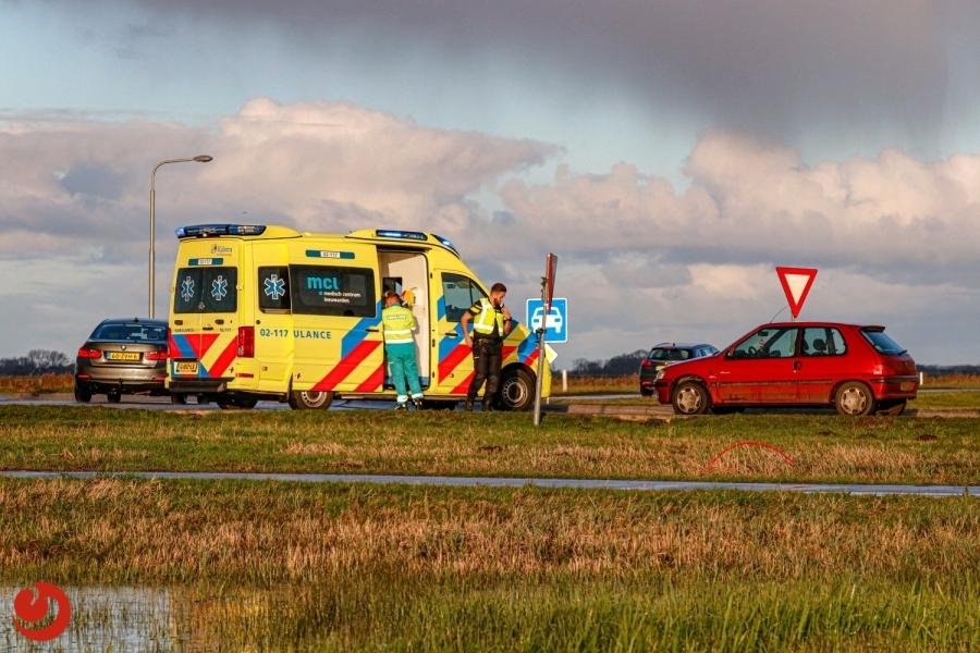 Wielrenner gewond na ongeval
