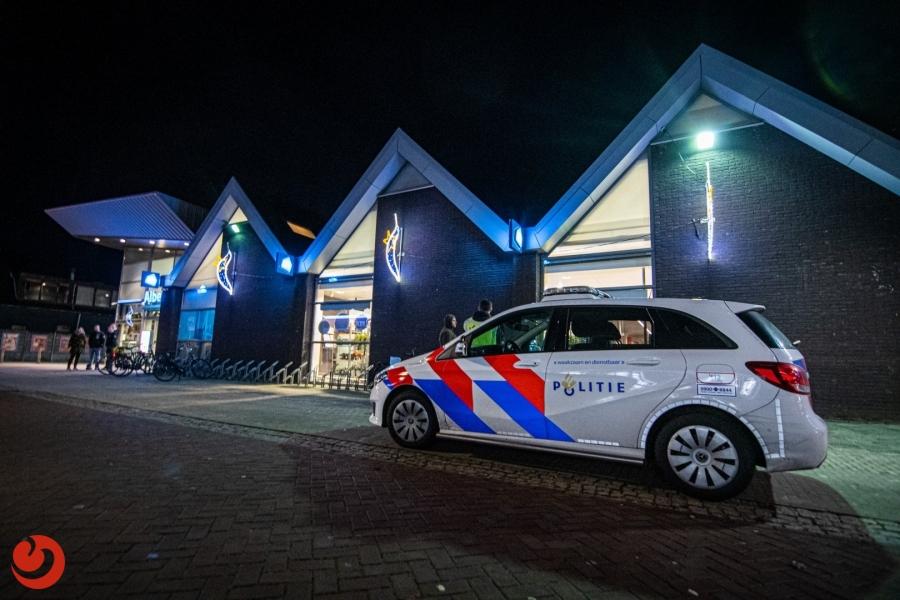 Drie aanhoudingen na vechtpartij voor Albert Heijn