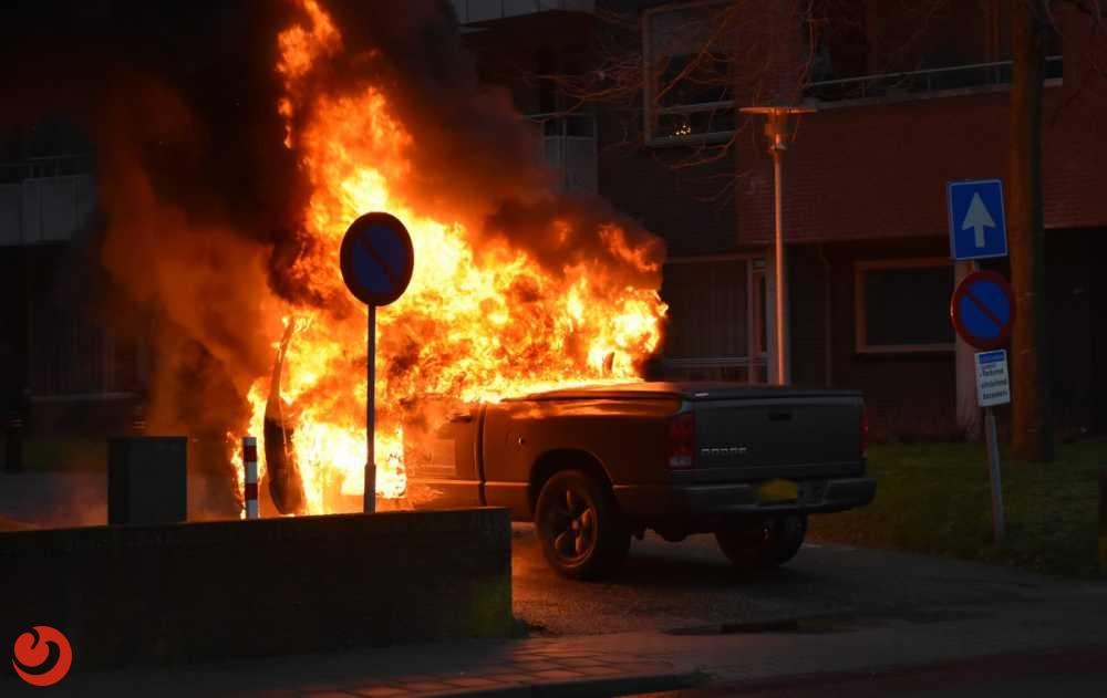 Pick-up brandt volledig uit