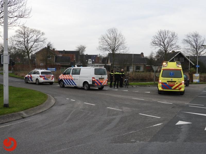 Fietser gewond bij ongeval met auto