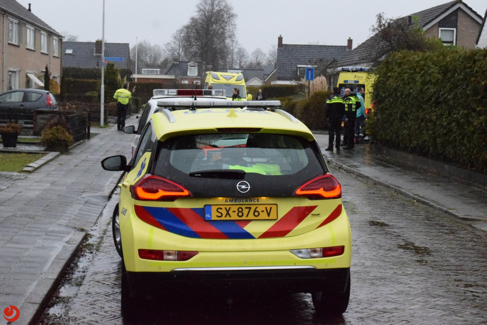 Fietser ernstig gewond bij ongeval met auto