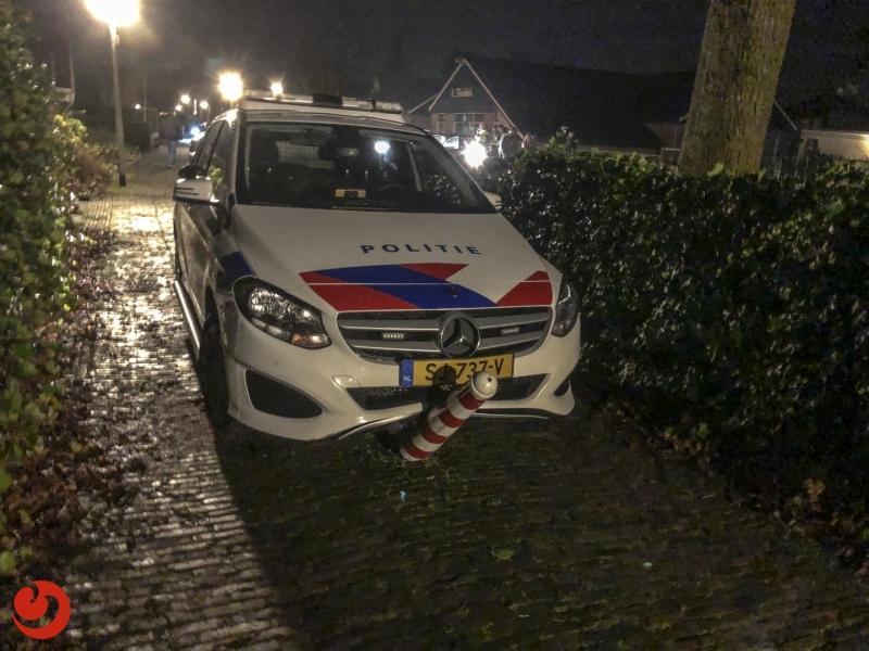 Politie houdt veroorzaker ongeval aan na achtervolging