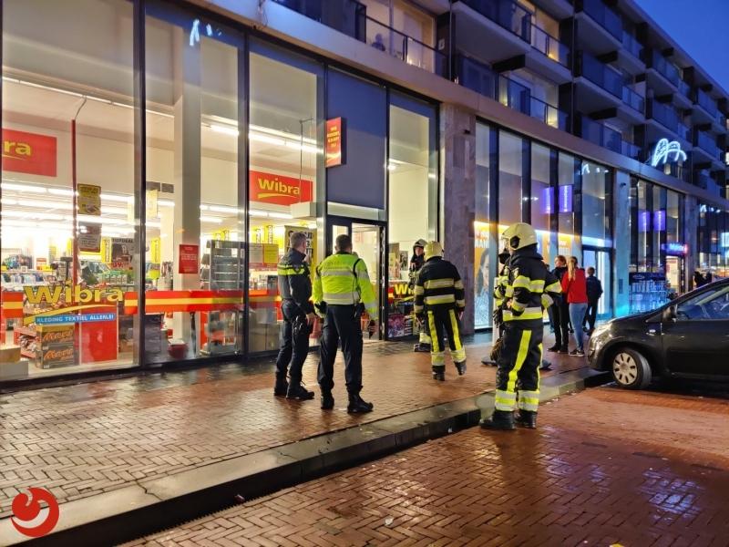 Winkel ontruimd na gaslucht