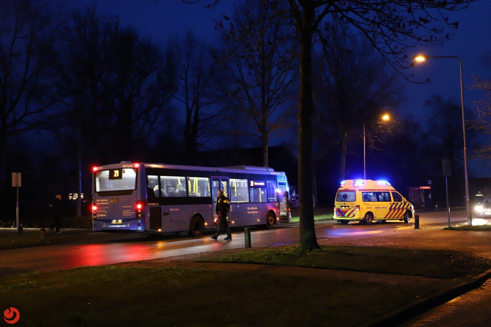 Vrouw ernstig gewond na val op straat