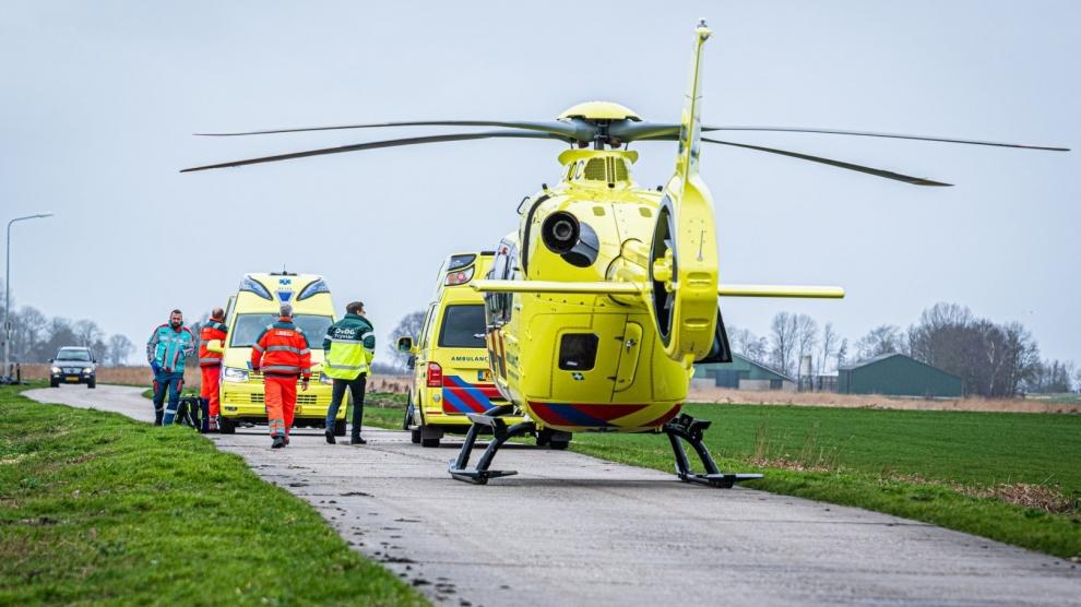 Rietsnijder ernstig gewond na ongeval