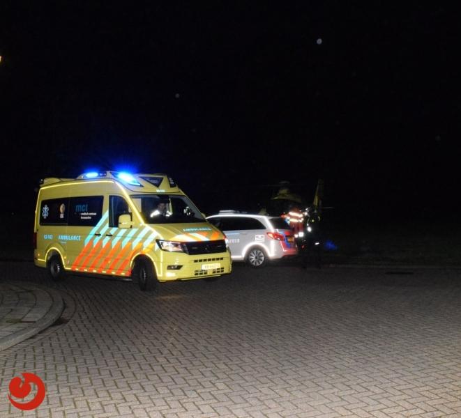 Man ernstig gewond tijdens werkzaamheden