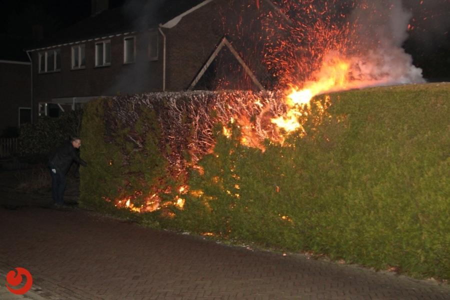 Aanhoudende coniferenbranden in Drachten; opnieuw arrestatie