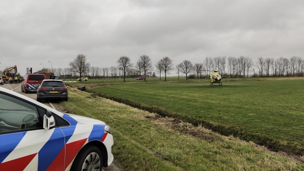 Twee personen om het leven gekomen bij zeer ernstig ongeval