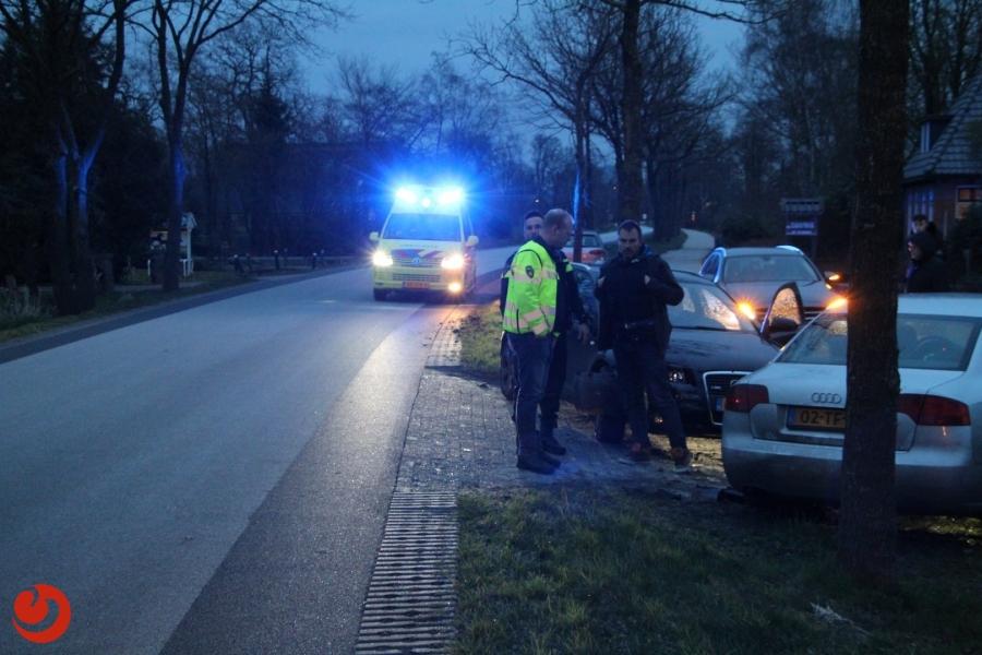 Automobilist onder invloed botst op auto