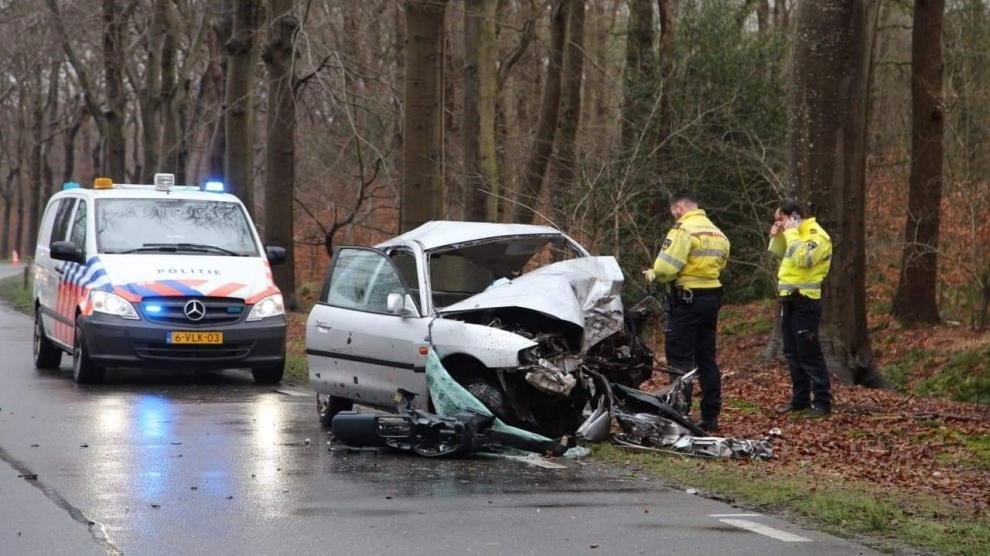 Persoon komt om het leven bij ongeval